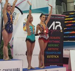 Final Campeonato de España Individual, Clubes y Autonomías de Gimnasia Rítmica