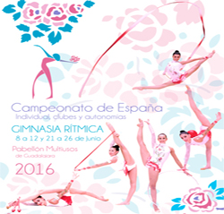 Campeonato de España Individual, Clubes y Autonomías de Gimnasia Rítmica