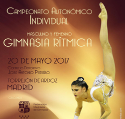Campeonato Autonómico Individual Masculino y Femenino de Gimnasia Rítmica