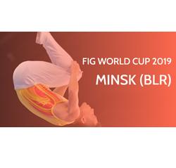 Copa del Mundo de Gimnasia Trampolín (Minsk)