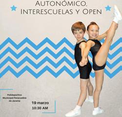 Campeonato Autonómico-Interescuelas y Open de Gimnasia Aeróbica