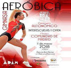 Autonómico-Interescuelas y Open-I Trofeo Comunidad de Madrid de Gimnasia Aeróbica