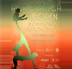 Campeonato Autonómico y III Open de Gimnasia Acrobática