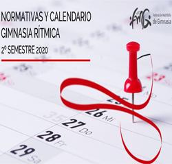 Calendario y Normativas GIMNASIA RÍTMICA-FMG 2020.