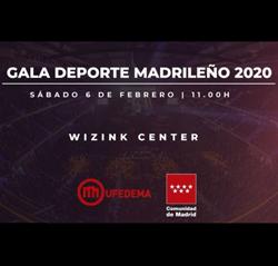 Gala del Deporte Madrileño 2020