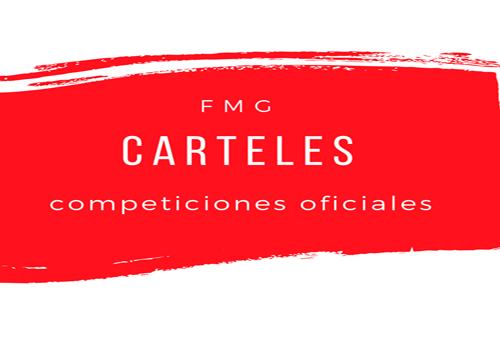 Carteles Competiciones Oficiales FMG