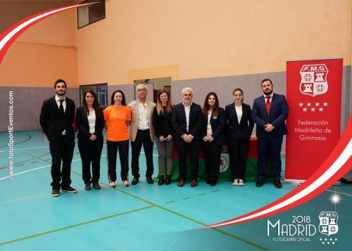 Autonómico. IX Trofeo Comunidad de Madrid. Gimnasia Trampolín